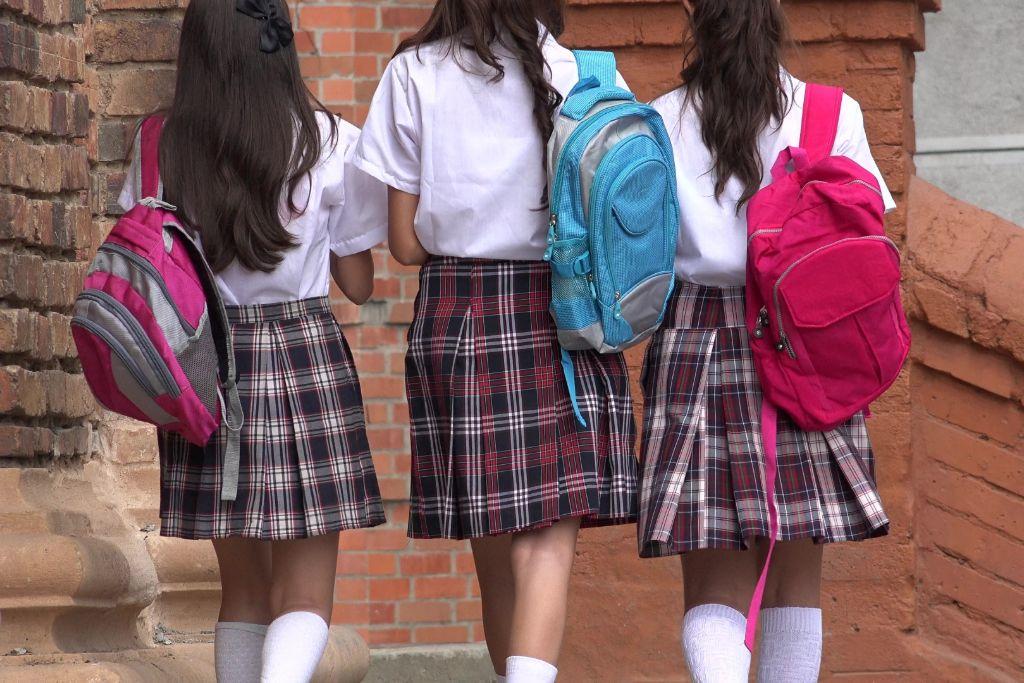 Schoolgirls in Latin America